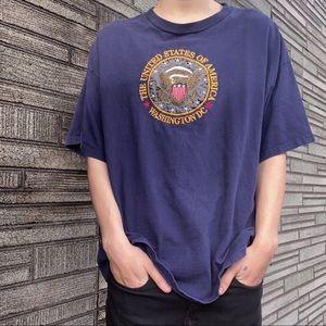 Vintage US America Washington DC T-Shirt Top